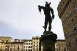 Piazza della Signora, Cellini's Perseus