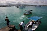 Boat to Las Gretas, Santa Cruz Island