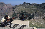 Shooting in the mountains near Khulan