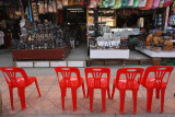 The husband's chairs, Siem Reap