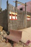 Siem Reap sidewalk