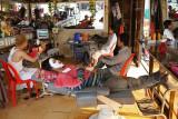 Barber shop, Siem Reap