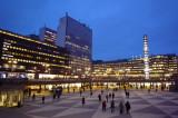 City center 市中心夜景
