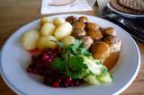 Swedish cusine 瑞典美食:肉丸
