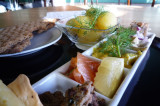 Swedish cusine: A combination of fish dishes 瑞典美食:六種魚料理