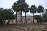 MISSION CONCEPCION IS THE LEAST RESTORED OF ALL THE MISSIONS OF SAN ANTONIO