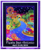 THE OFFICIAL 2010 FIESTA SAN ANTONIO POSTER