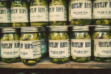 THIS IS A VERY POPULAR TYPE OF PICKLED OKRA  AT RUSTLIN' ROB'S