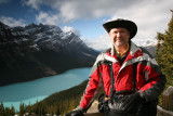 Dale at Peyto Lake