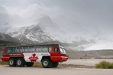 Snow Coach at the Athabasca Glacier / Columbia Icefield