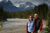 Ang & Dale on the Icefields Parkway