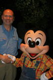Dale and Mickey at Garden Grill Restaurant at EPCOT