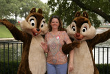 Ang with Chip and Dale