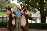 Dale with Chip and Dale