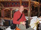 Dale rides Carousel Ride (Magic Kingdom)