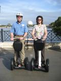 Dale and Angela-EPCOT Segway Tour