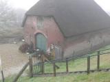 .... mooie boerderijen langs de Lek.