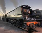 Wadebridge 34007.  Giants of Steam Oct 07