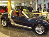 Roadster Preview at Mercedes-Benz Mayfair, May 2003