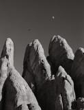Utah Moon with Raptor, 1998