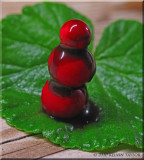Red, green and chocolate
