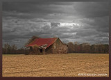 Old barn in HDR(High Dynamic Range)