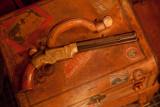Volcanic Pistol on travel trunk-1798