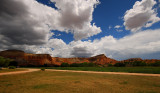 Lunch stop at Ghost Ranch