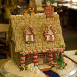 From the annual gingerbread house contest