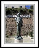 Impressive statue...