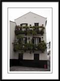 Decorative balconies....