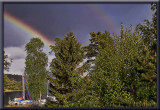 Saturdays double rainbow...