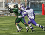 Rematch between Tottenville Pirates from Staten Island and Brooklyn's New Utrecht Utes