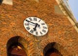 Brick Tower Clock