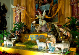Christmas Crib At  Church Of The Holy Cross