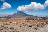 Mt. Mawenzi With Clouds