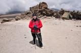 Ready To Walk Down To Horombo Huts
