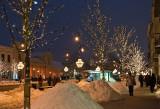 Snow Dunes And Illuminations