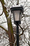 Park Lantern With Icicles