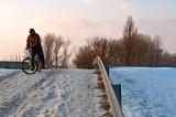 ACTION: Snow Biking