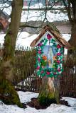 Little Shrine In Winter