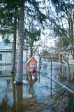 Frontyards Flooded