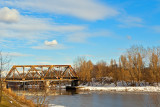 Railroad Bridge Over Zeranski Channel