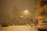 Night Snow