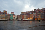 Rain Over Old Town Market Square