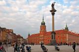 Motorbikes On Royal Castle Square