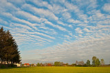Big Sky Over The Village