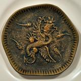 Dragon On Metal Plate