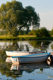Boats On Narew River
