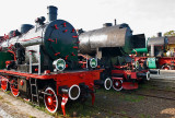 Locomotives OKo1-3, Ty43-17 and Os24-7